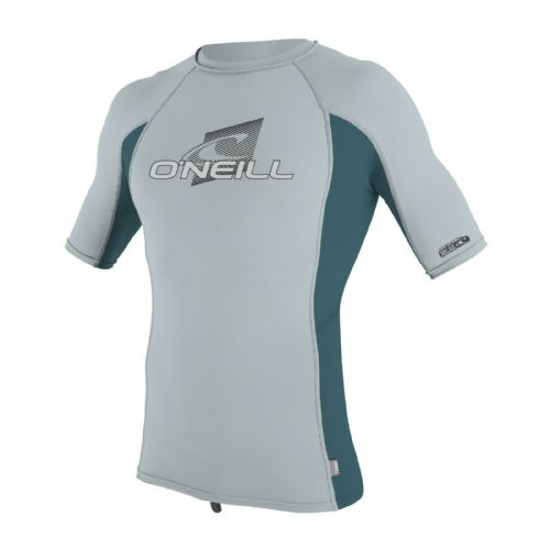 O'NEILL BOYS RASH TOP.NEW SKINS UPF50+ SUN PROTECTION GREY VEST T SHIRT 9S 73/FS